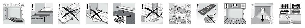 Polaganje laminata - klik sistem