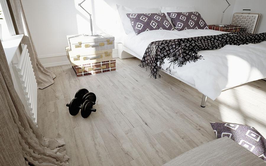 Vinilna tla v spalnici